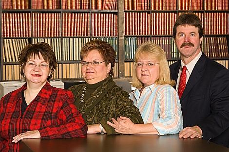 Boone County Treasurer and staff